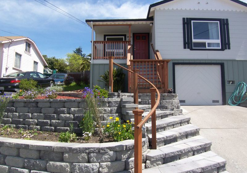 Front Yard Curved Staircase