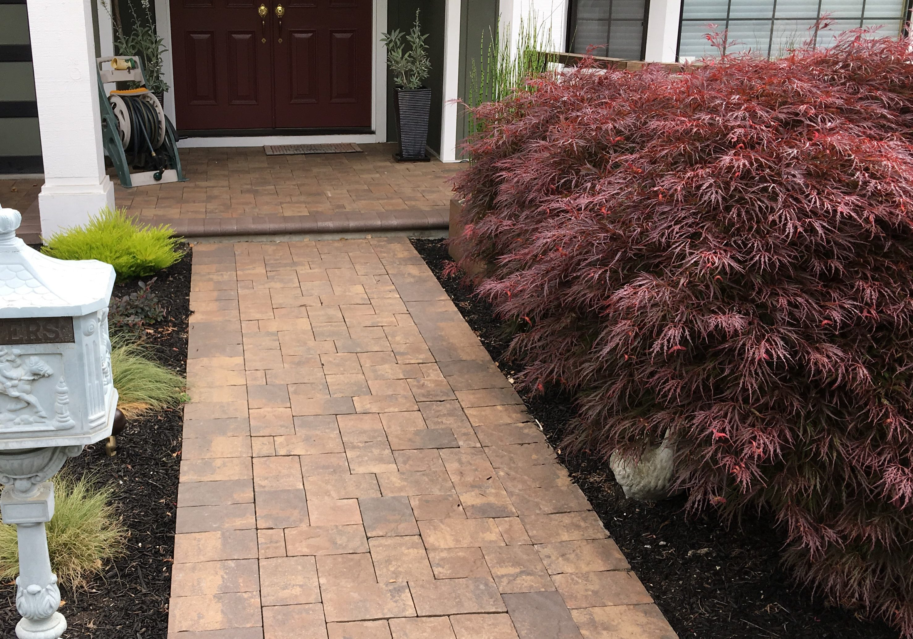 Paver Walkway Installed by Oakland Landscaping